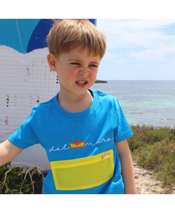 T-shirt Bambino - Azzurro