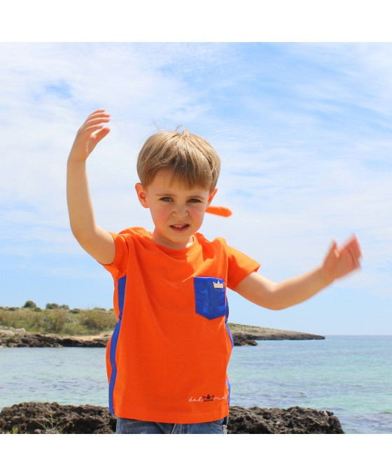 T-shirt Bambino - Arancione