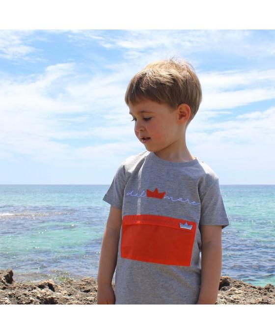 T-shirt Bambino - Grigio
