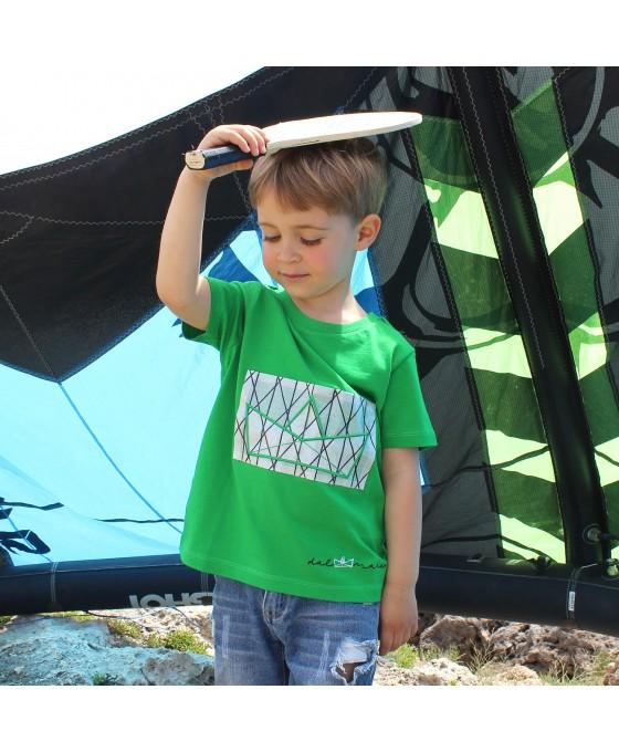 T-shirt Bambino - Verde