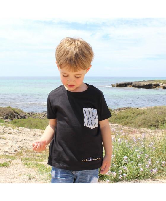 T-shirt Bambino - Nero
