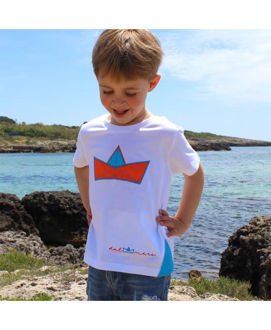 T-shirt Bambino - Bianca