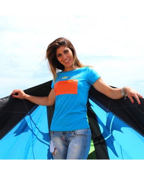 T-shirt Donna - Azzurro