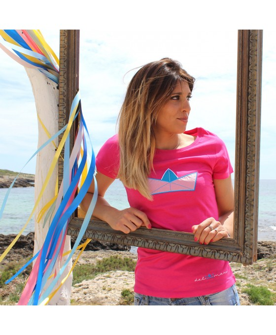 T-shirt Donna - Lampone