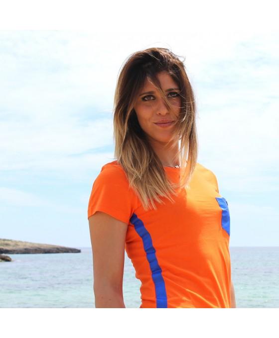 T-shirt Donna - Arancione