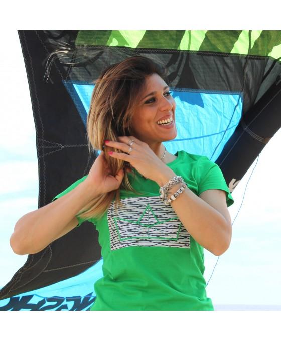 T-shirt Donna - Verde