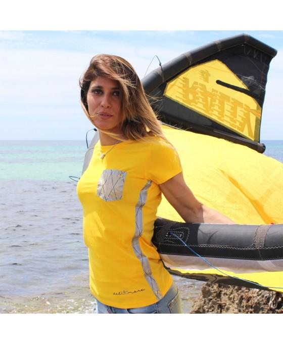 T-shirt Donna - Gialla