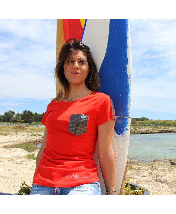 T-shirt Donna - Rossa