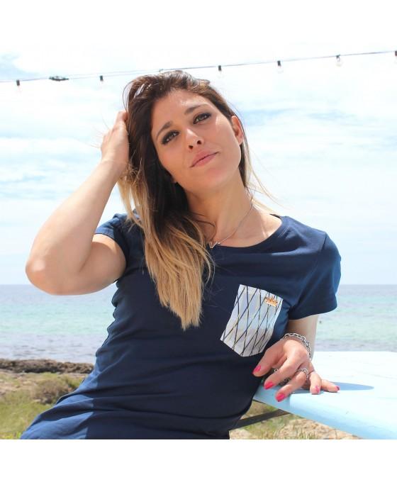 T-shirt Donna - Blu