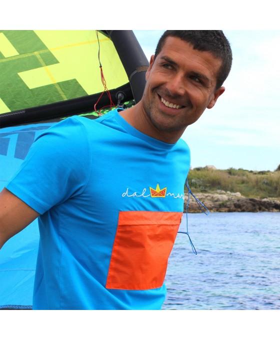 T-shirt Uomo - Azzurro