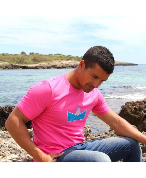 T-shirt Uomo - Lampone