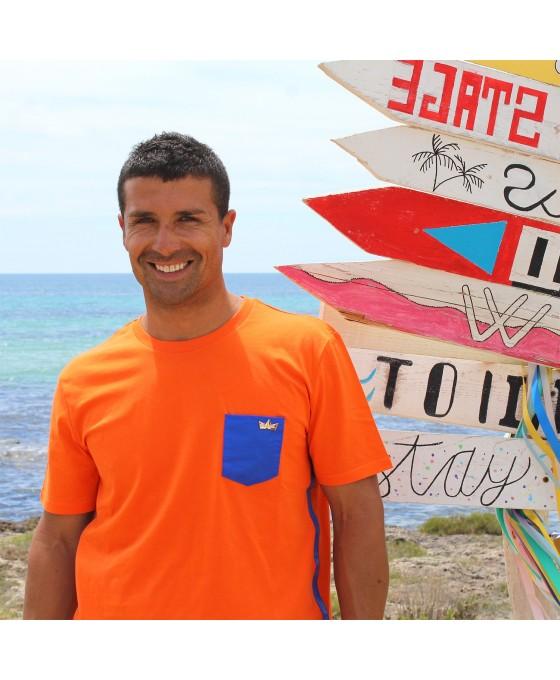 T-shirt Uomo - Arancione