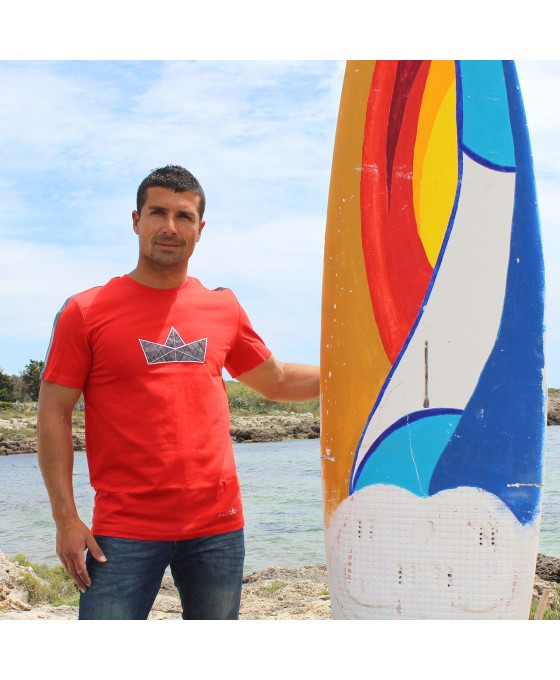 T-shirt Uomo - Rossa